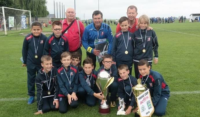 U11 champions Young Cup